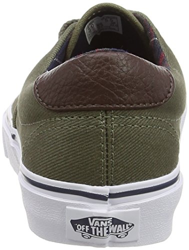 Vans Era 59 - Zapatillas Unisex adulto Verde (Plaid - Ivy Green)