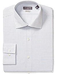 Men's Regular Fit Flex Collar Check