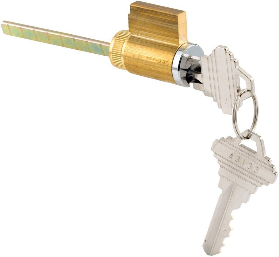 Prime-Line Products 1505-SG-KD Schlage Keyway Sliding Door Cylinder Lock for Tumbler