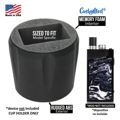 - CushyMod CUP HOLDER custom sized for Smok Trinity Alpha 30W Pod cover wrap skin sleeve case car mod vape kit