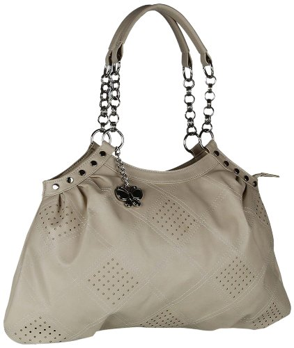 57% discount on Butterflies Handbag (Beige)(BNS 0346) for Rs. 599 at Amazon India, Amazon. in