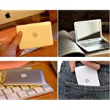Silver Portable Apple Macbook Air Designe Mini Cosmetic Make-Up Compact Mirror