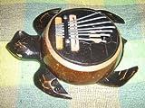 UNIQUE Handmade TURTLE Karimba Mbira Thumb Piano Kalimba Finger