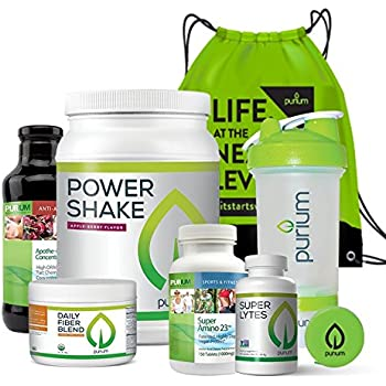 Amazon Com Purium 10 Day Transformation Premium Cleansing Amp Detox Kit To Help Weight Loss
