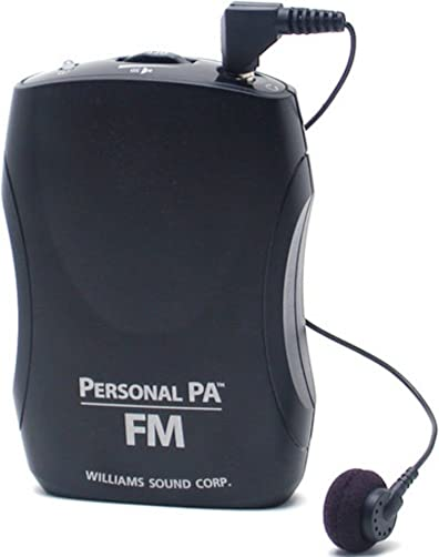 Williams Sound PPA R37 PPA Select FM Receiver, Black Fits with PPA T46, PPA T45, PPA T45NET and PPA T27 transmitters, Seek-Button Access to All 17 wideband Frequencies in The 72-76 MHz Bandwidth