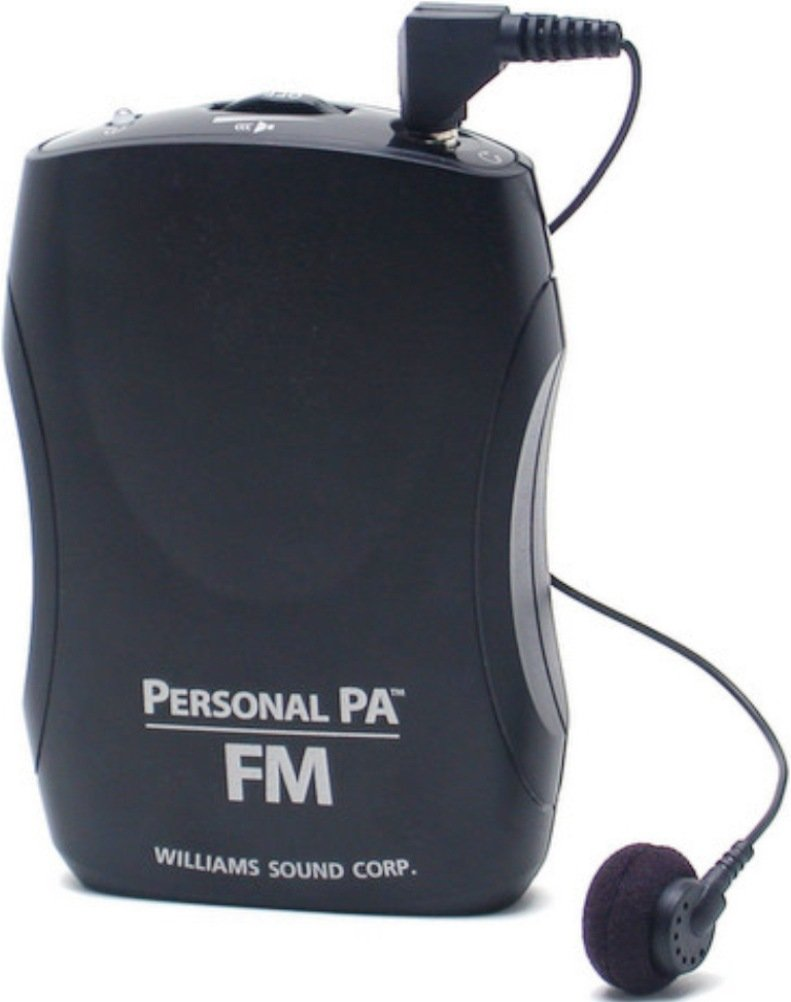 Williams Sound PPA R37 PPA Select FM Receiver, Black Fits with PPA T46, PPA T45, PPA T45NET and PPA T27 transmitters, Seek-Button Access to All 17 wideband Frequencies in The 72-76 MHz Bandwidth by Williams Sound