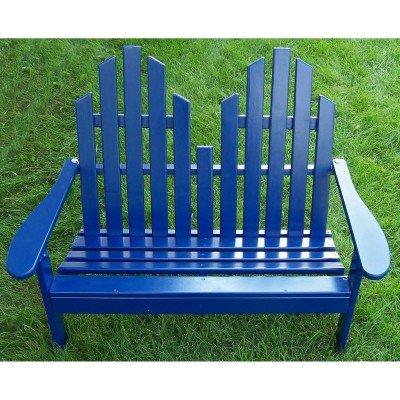 Prairie Leisure Adirondack Settee - Prairie Leisure Junior Settee Chair