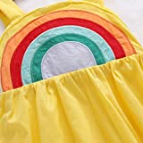 Toddler Baby Girls Rainbow Beach Summer Sundress