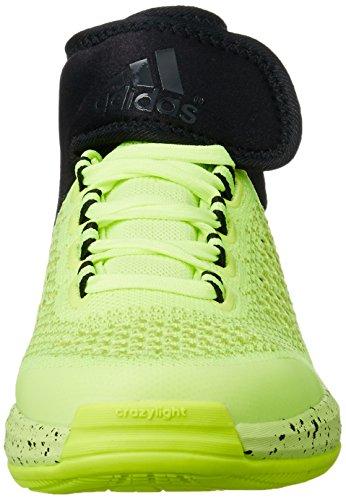 Primekni Baskets Crazylight Blanc Homme Adidas Jaune Pour 2015 Boost Noir Awgx1q71