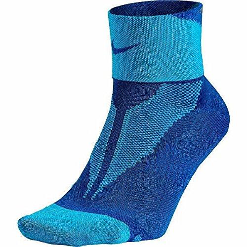 Nike Mens Elite Run Lightweight Quarter 6-7.5 Game Royal/Blue Lagoon/Game Royal
