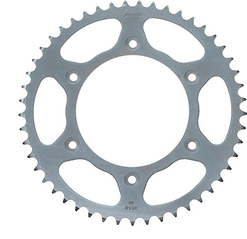 (Sunstar 2-359250 50-Teeth 520 Chain Size Rear Steel Sprocket)