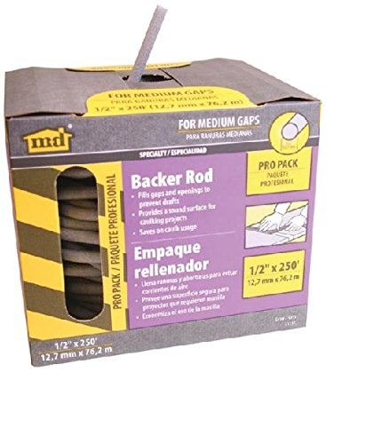 Caulk Backer Rod 1/2in X 250ft by M-D Building Products (Image #1)