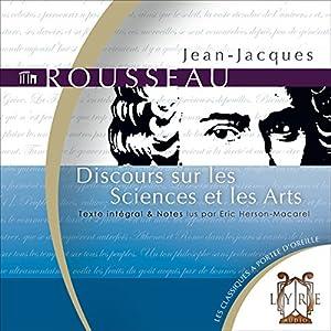 Discours sur les Sciences et les Arts Audiobook