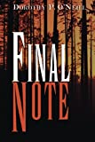 Final Note, Dorothy P. O'Neill, 1612186319