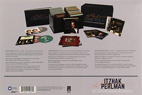 Itzhak Perlman - The Complete Warner Recordings (77CD) by Warner Classics/Parlophone (Image #3)