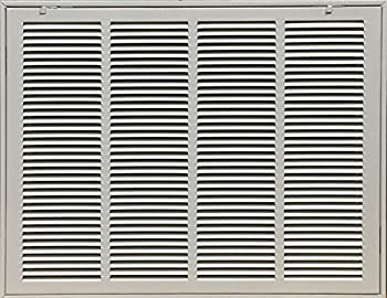 """KozziAir Steel Return Filter Grille Stamped-Face 20"""" X 14"""" (duct opening size)"""