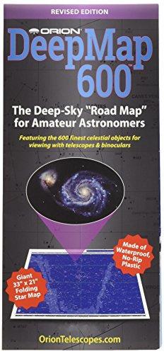 Orion 4150 DeepMap 600 Folding Star Chart ()
