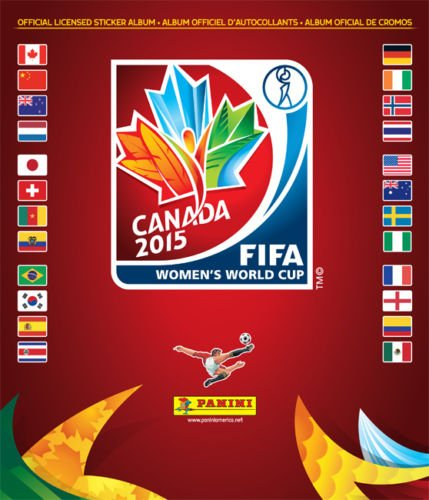 Panini CANADA 2015 Women's World cup complete 478 stickers collection + album by Panini