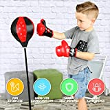 ToyVelt Punching Bag For Kids Boxing Set Includes