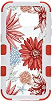 Asmyna Phone Case for Samsung Galaxy S7 - Back/Red