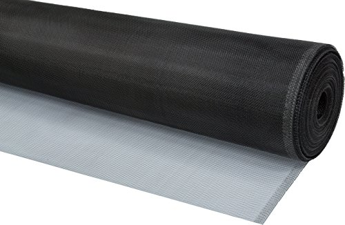 WJ Dennis & Company Climaloc SACL36100B Bulk Roll of Strong Durable Aluminum Replacement Screen for Professionals, 36-Inch x 100-Feet, Black ()