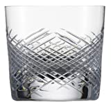 Zwiesel 1872 Charles Schumann Hommage Collection Comete Handmade Glass Small Whiskey Cocktail Glass, 9.6-Ounce, Set of 2