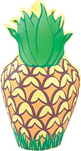 Bristol Novelty IJ032 Inflatable Pineapple Party Decoration Set, Yellow/Green/Brown, One Size