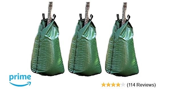 8 Pack Treegator Original 20 Gallon Watering Bag 98183 Slow Release Irrigation