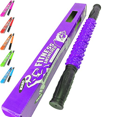 The Muscle Stick Elite Hard Massage Roller – Purple