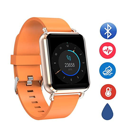 zeerkeer Waterproof Women Smartwatch Records período de ...