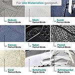 Sneaker Cleaner - kit de nettoyage pour chaussures, 250ml d'agent nettoyant avec 2 brosses pour matériaux sensibles et… 12