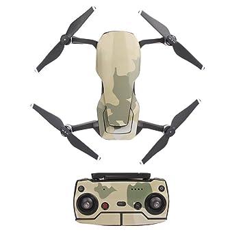 Pegatinas 3D de PVC impermeables para el dron DJI Mavic Air Drone ...