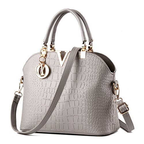 ZAWARA Women Top Handle Satchel Handbags Tote Purse Casual Work Bag