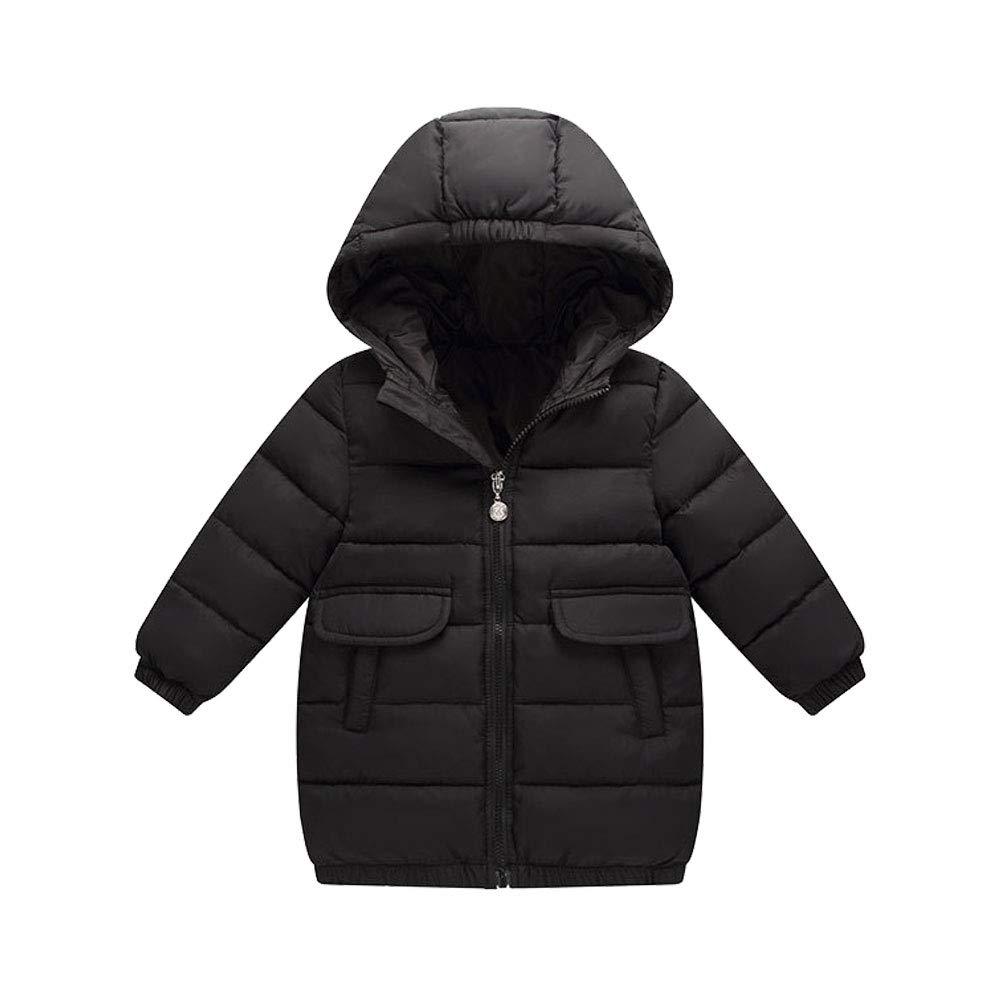 M&A Girls Boys Lightweight Packable Puffer Jacket Outerwear Hooded Winter Coat