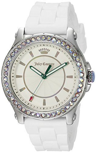 Juicy Couture Women's 1901337 Analog Display Quartz White Watch