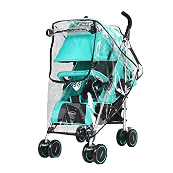 Qualified Raincoat For A Stroller Universal Strollers Pushchairs Baby Carriage Waterproof Dust Rain Cover Windshield Stroller Accessories Activity & Gear