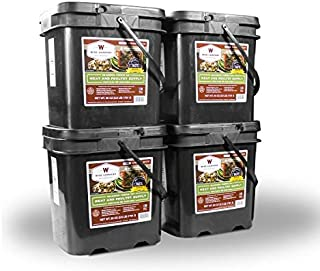 product image for Wise Emergency Survival Food - Freeze Dried Meat & Rice Bucket (240 Count)