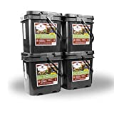 Wise Emergency Survival Food - Freeze Dried Meat & Rice Bucket (240 Count)
