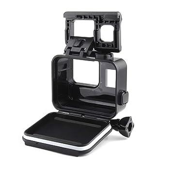 Yangers Funda Carcasa Protectora de Buceo Impermeable para GoPro Hero 7 Black Modelo 6 5 Cámara de acción, Cubierta de Silicona bajo el Agua con ...