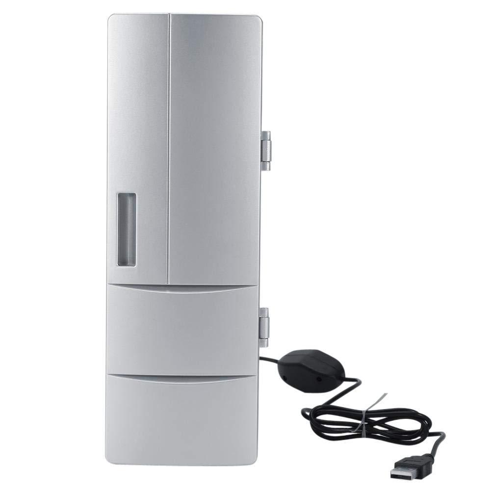 Mini refrigerador USB, Mini refrigerador Compacto USB Latas del ...