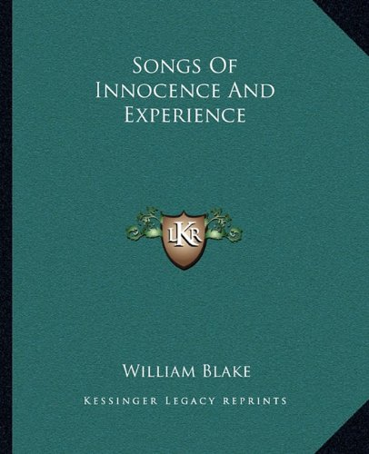 Download Songs Of Innocence And Experience pdf epub