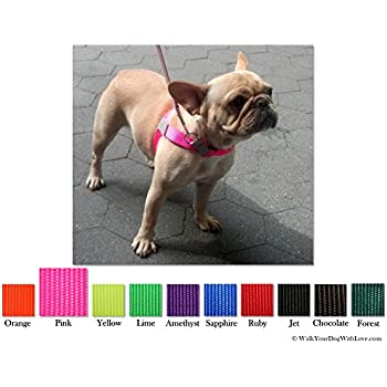 51ZIO436HBL._SL500_AC_SS350_ amazon com walk your dog with love front leading, no pull front lead dog harness at couponss.co