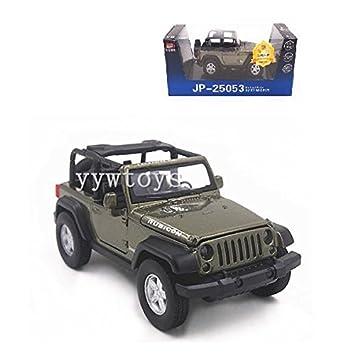 Amazon.com: 1: 32 sonido abierto Jeep Wrangler Rubicon ...