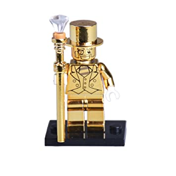 "Mr Gold with Base - ""REPLICA"" Lego Custom Minifigure - Limited ..."