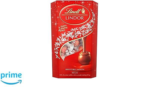 Lindt Lindor Leche Chocolate Trufas 600g: Amazon.es: Alimentación y bebidas