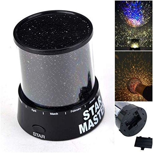 1 Pcs Crucial Popular Nightlight Star Sky Romatic Gift Master Projector Color - Wills Mens Blazer Jack