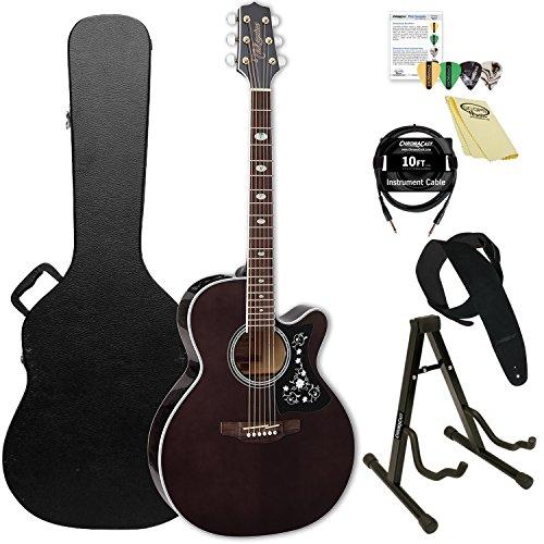 Takamine GN75CE TBK-KIT-2 NEX Cutaway Acoustic-Electric Guitar