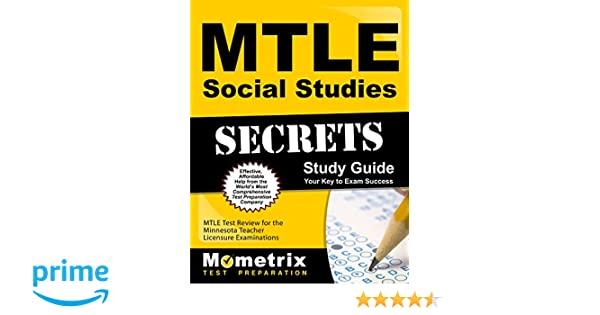 mtle social studies secrets study guide mtle test review for the rh amazon com 5th Grade Social Studies Study Guide 5th Grade Social Studies Study Guide