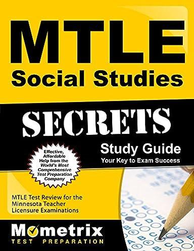 mtle social studies secrets study guide mtle test review for the rh amazon com Social Studies Study Guide Africa Social Studies Study Guide Answers