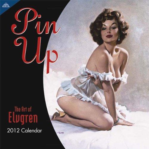 2012 Pin Up 12X12 Wall  calendar